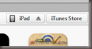 in iTunes wählen Sie das Gerät aus